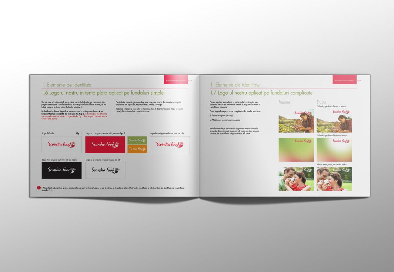 scandia food brandbook by inoveo agency