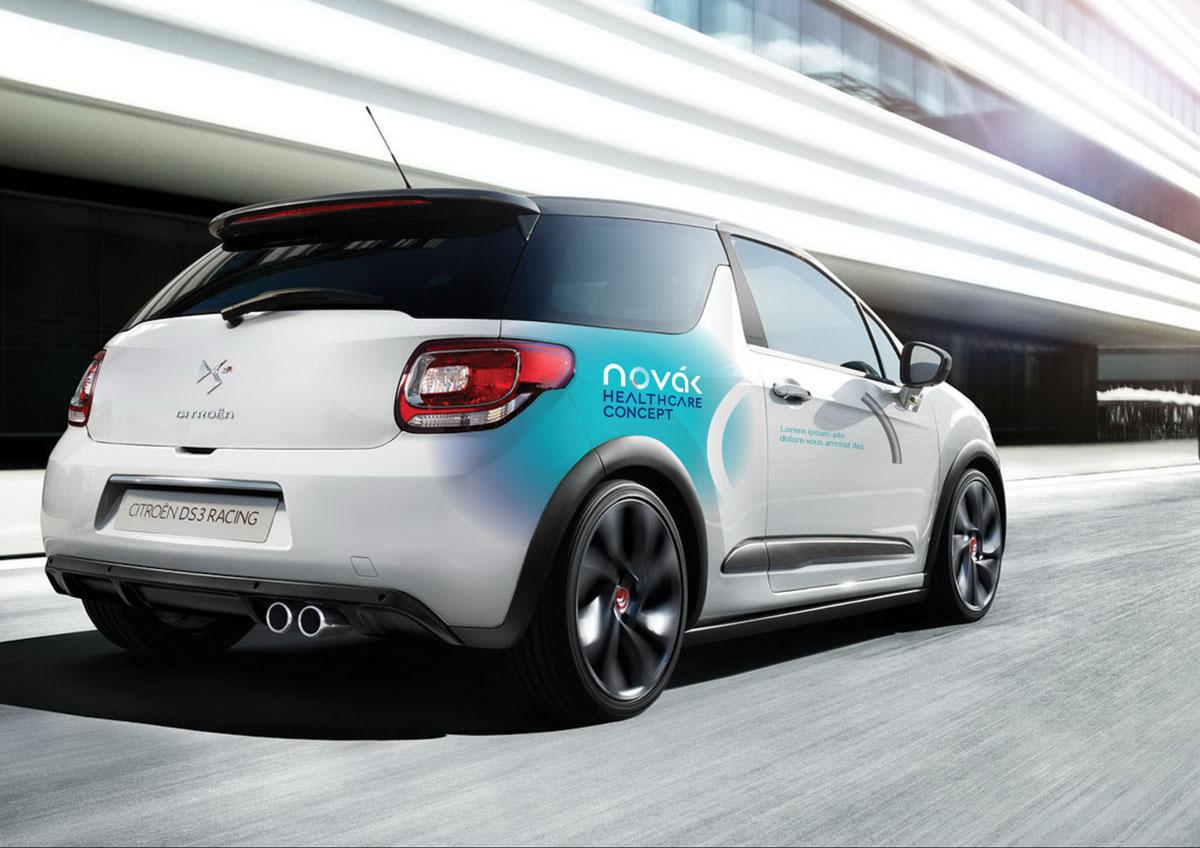 novak car branding