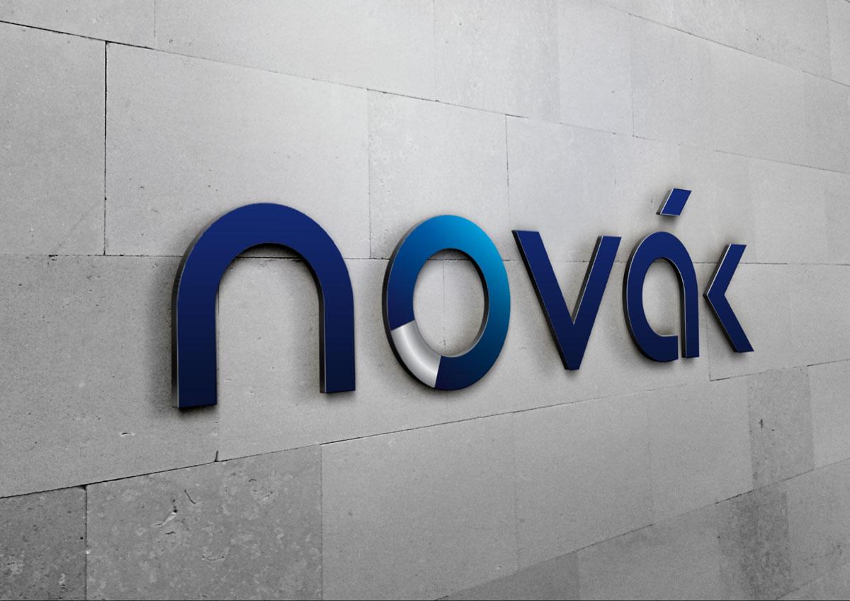 novak logo lumina branding