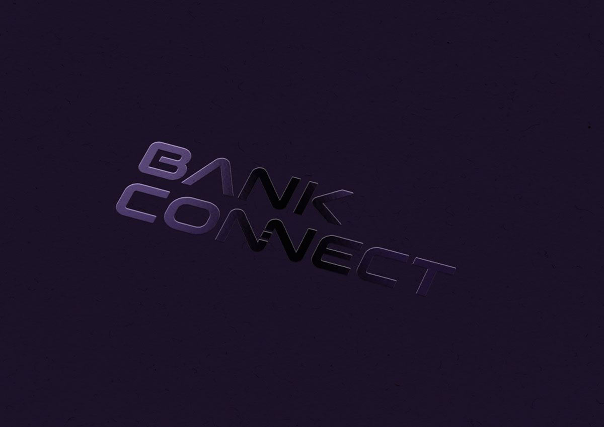 bank connect logo dark