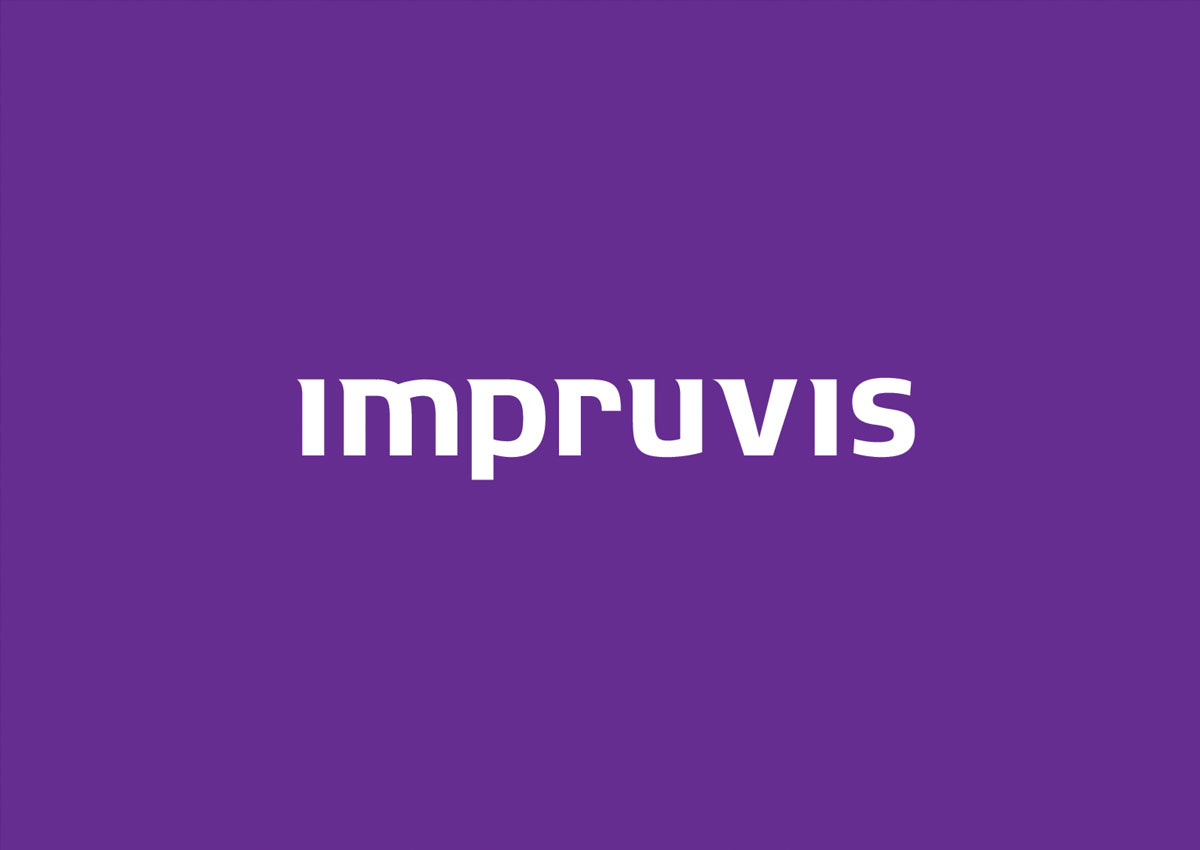 impruvis logo colored branding