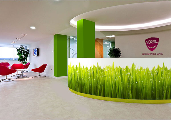laboratoarele vorel design ambiental hol