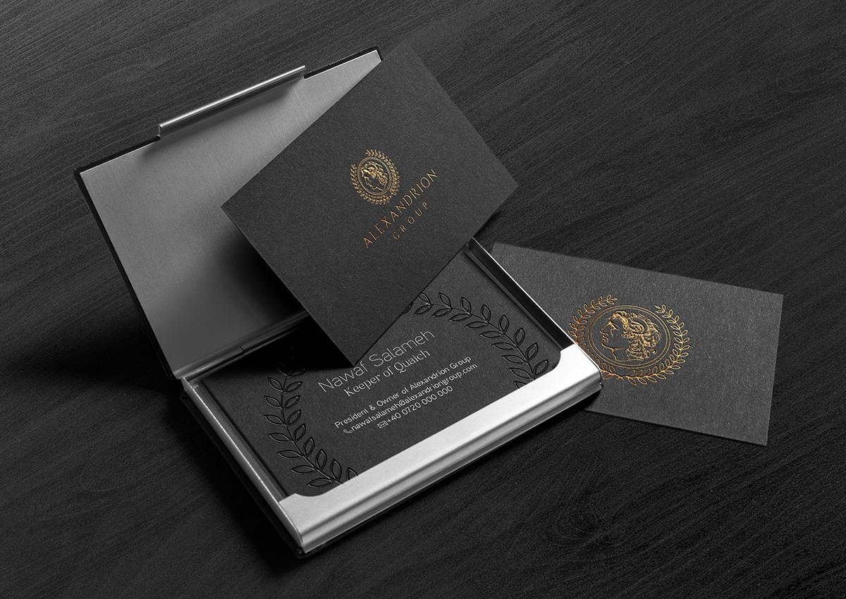 alexandrion carte vizita branding inoveo