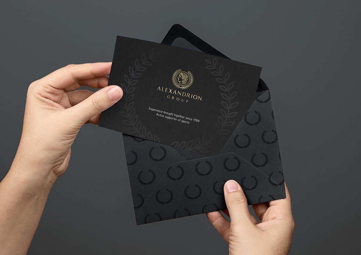 alexandrion invitatie branding inoveo