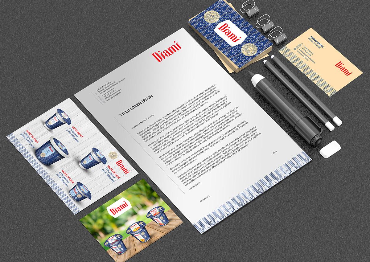 papetarie diami branding by inoveo agency