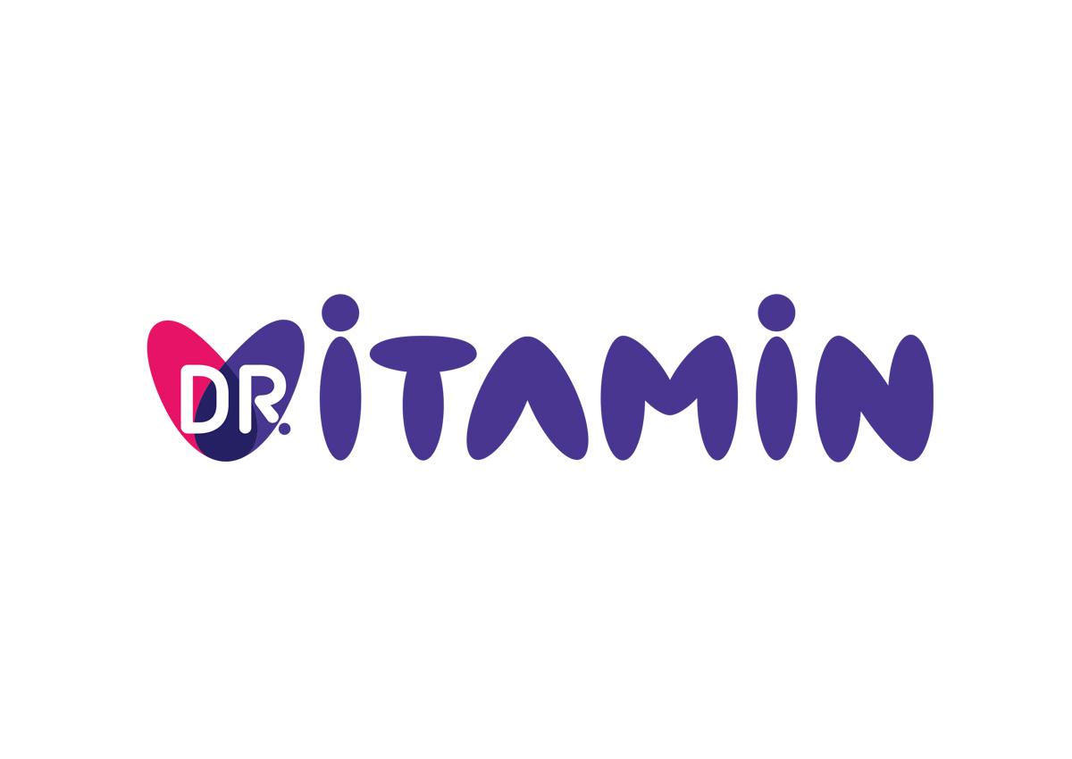 doctor vitamin logo design inoveo branding