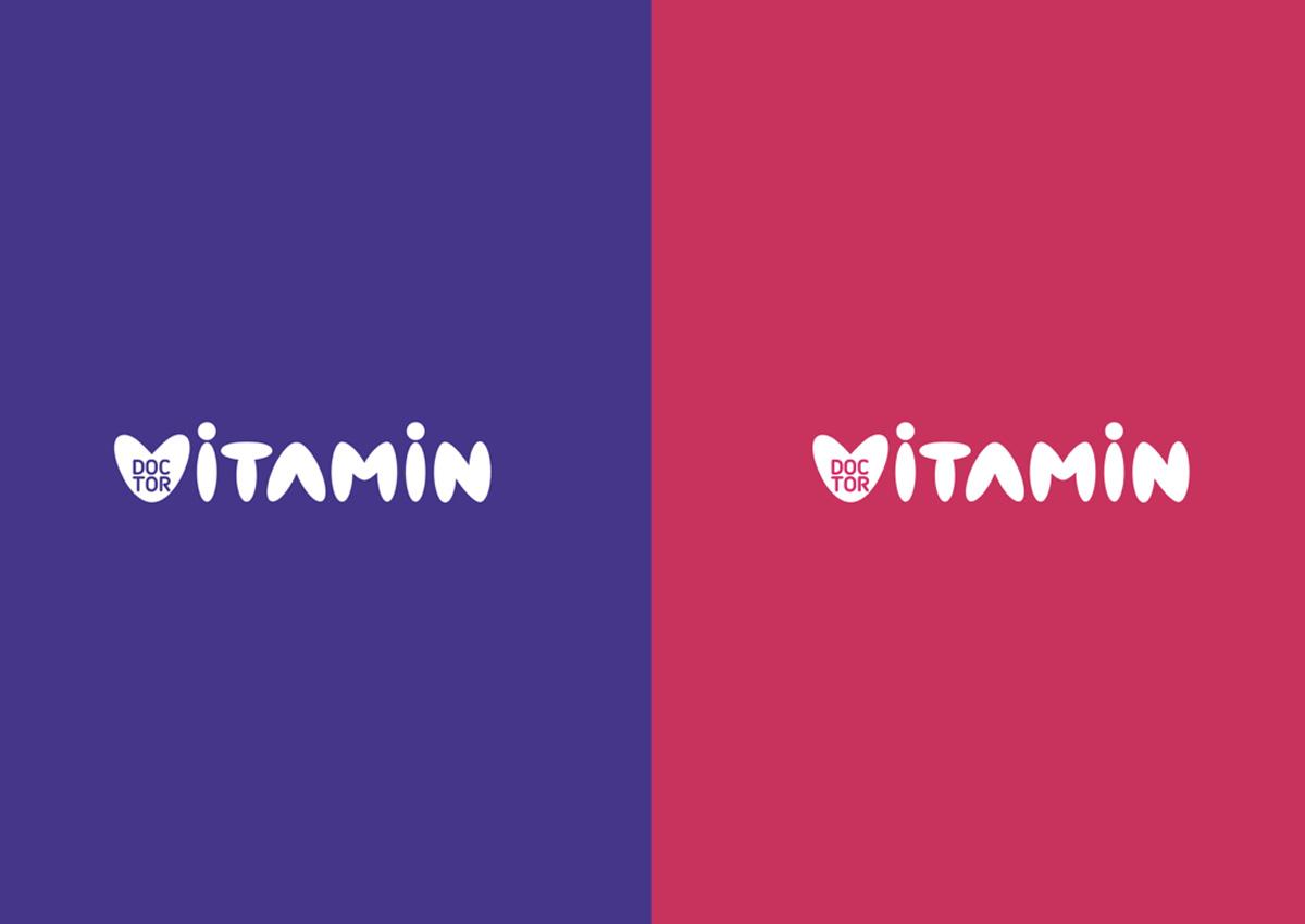 doctor vitamin logo branding inoveo