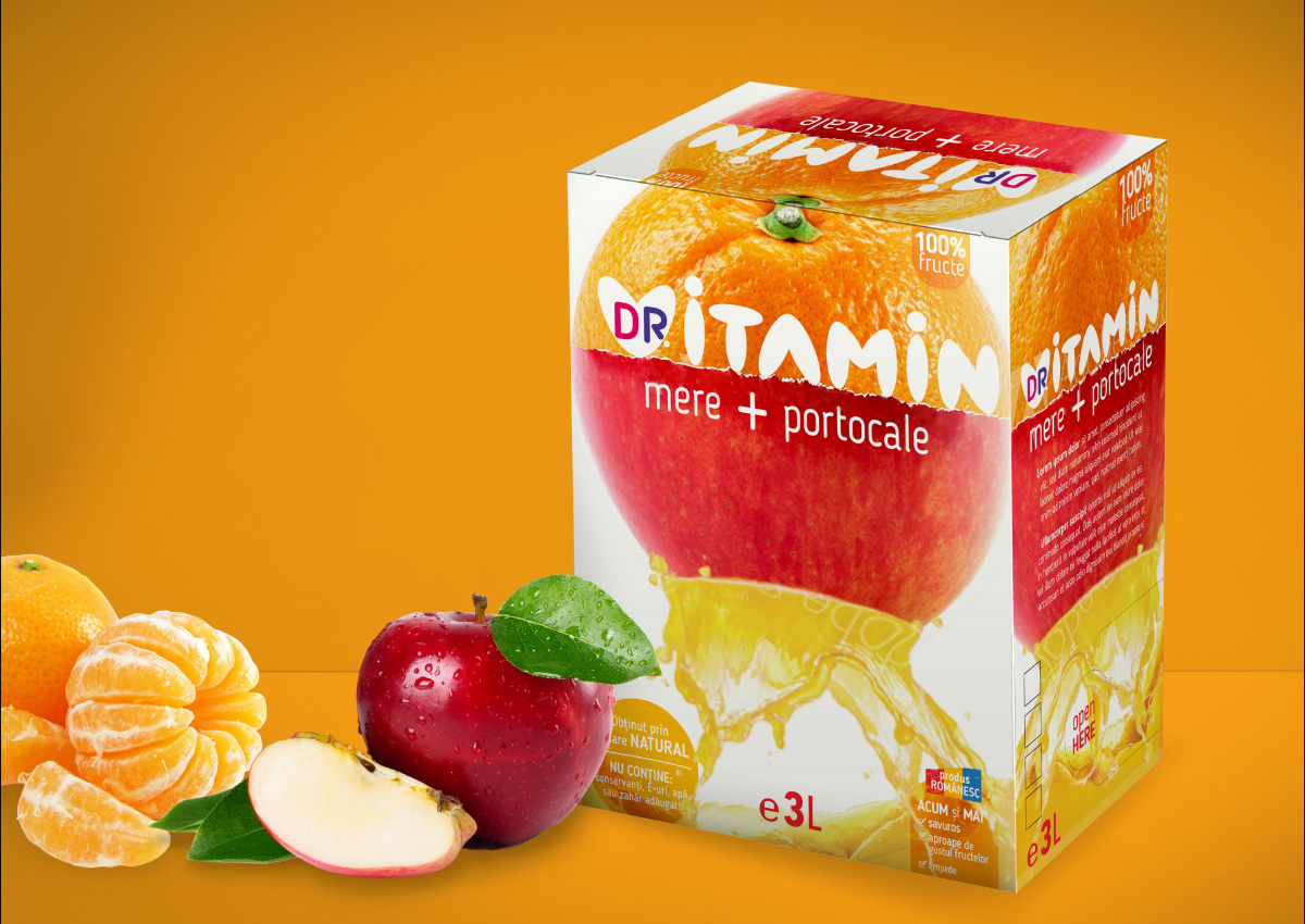 doctor vitamin produse inoveo branding
