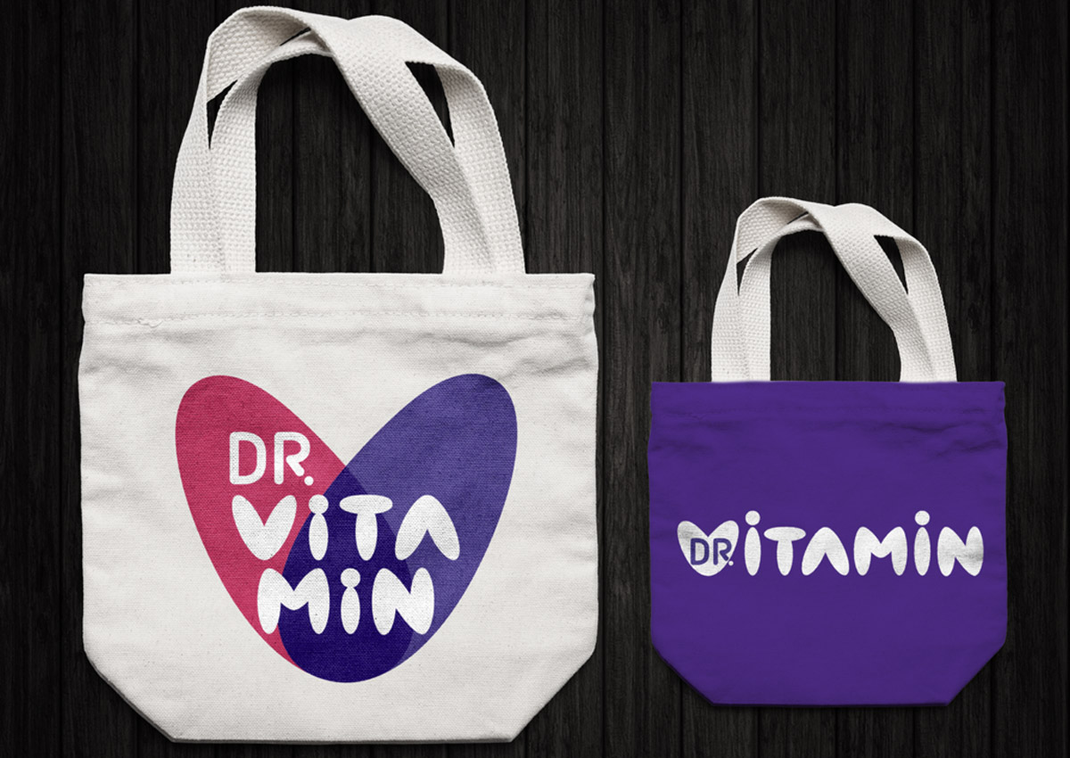 doctor vitamin pungi inoveo design branding