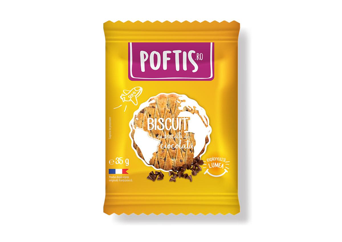 poftis produs biscuite branding inoveo