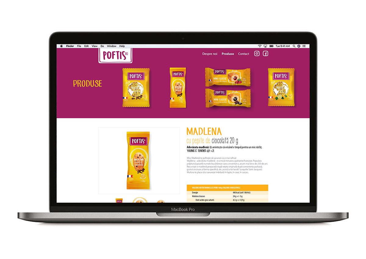 poftis website branding inoveo
