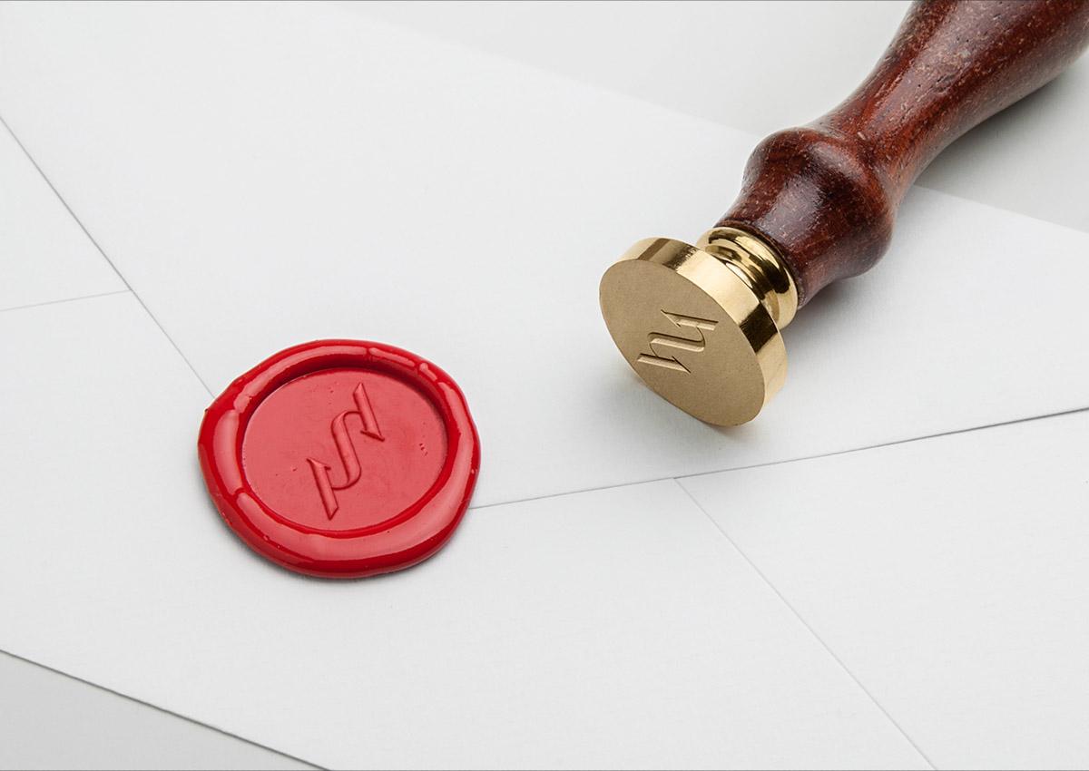 Sertus stamp branding inoveo