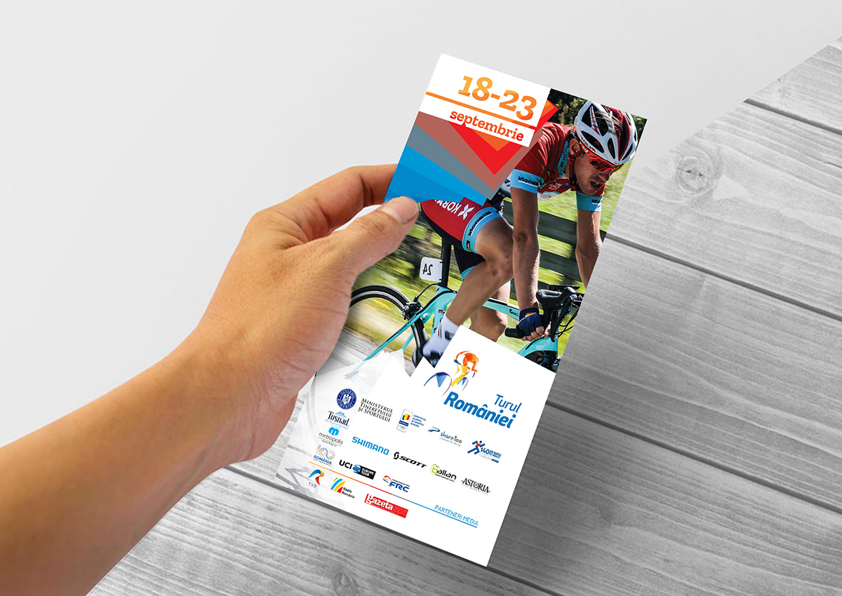 turul romaniei flyer inoveo design branding