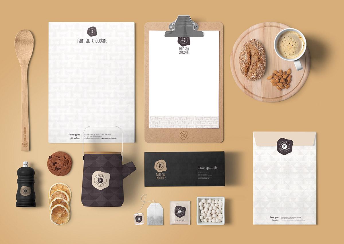pain au chocolart portfolio inoveo branding