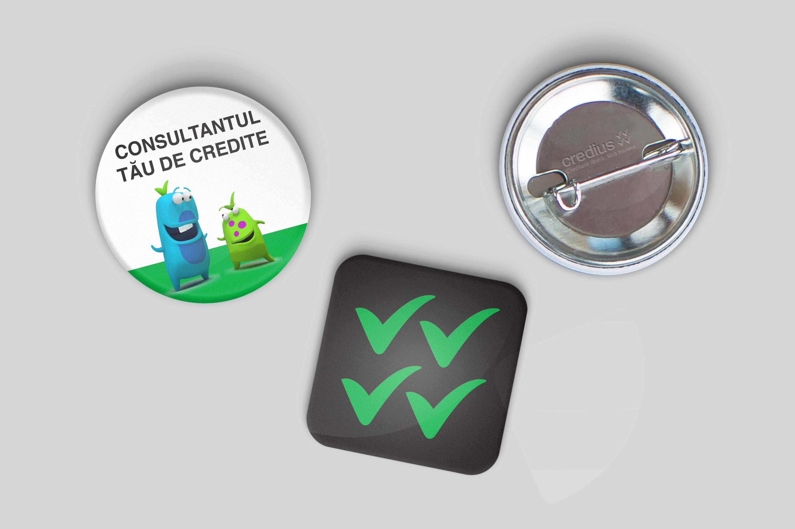 credius branding badges