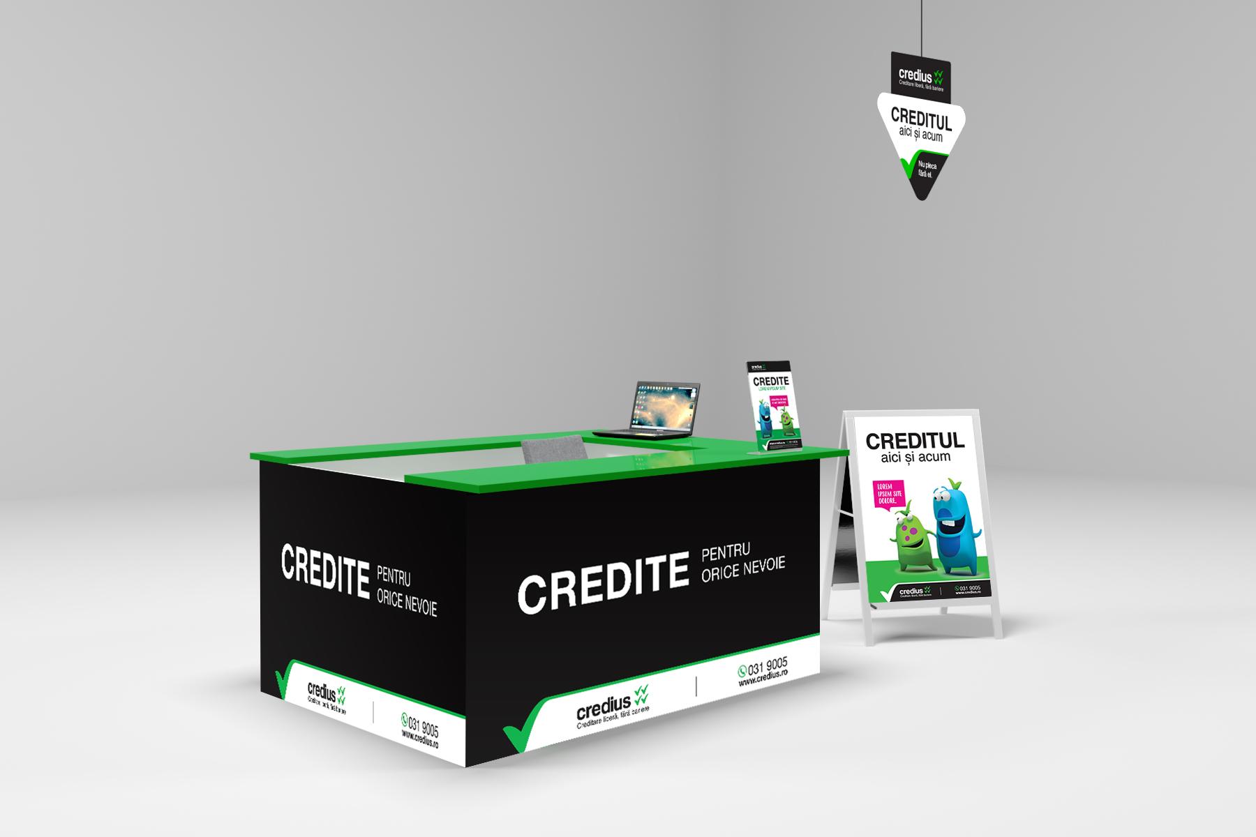 credius branding island