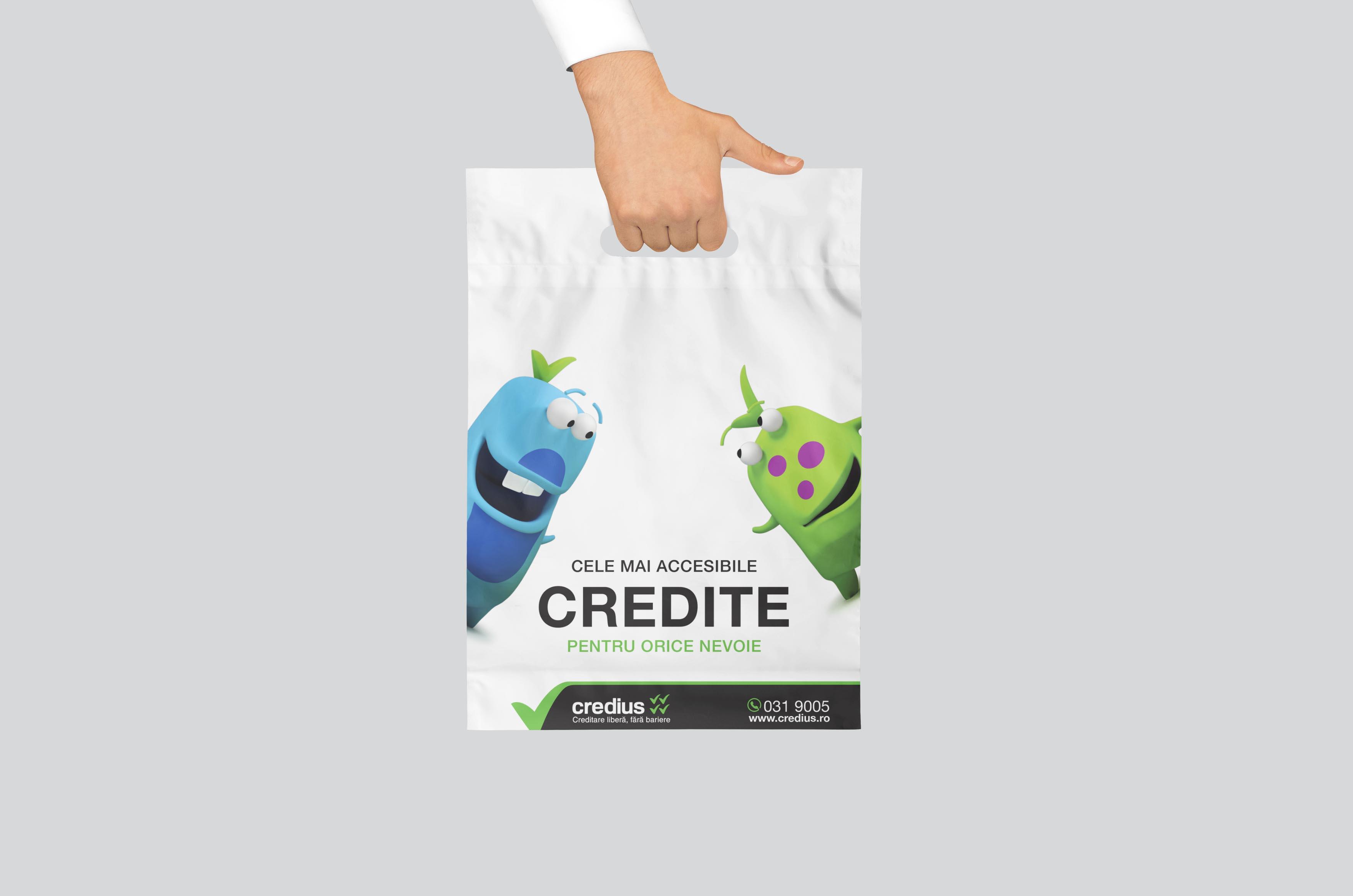 credius branding bag
