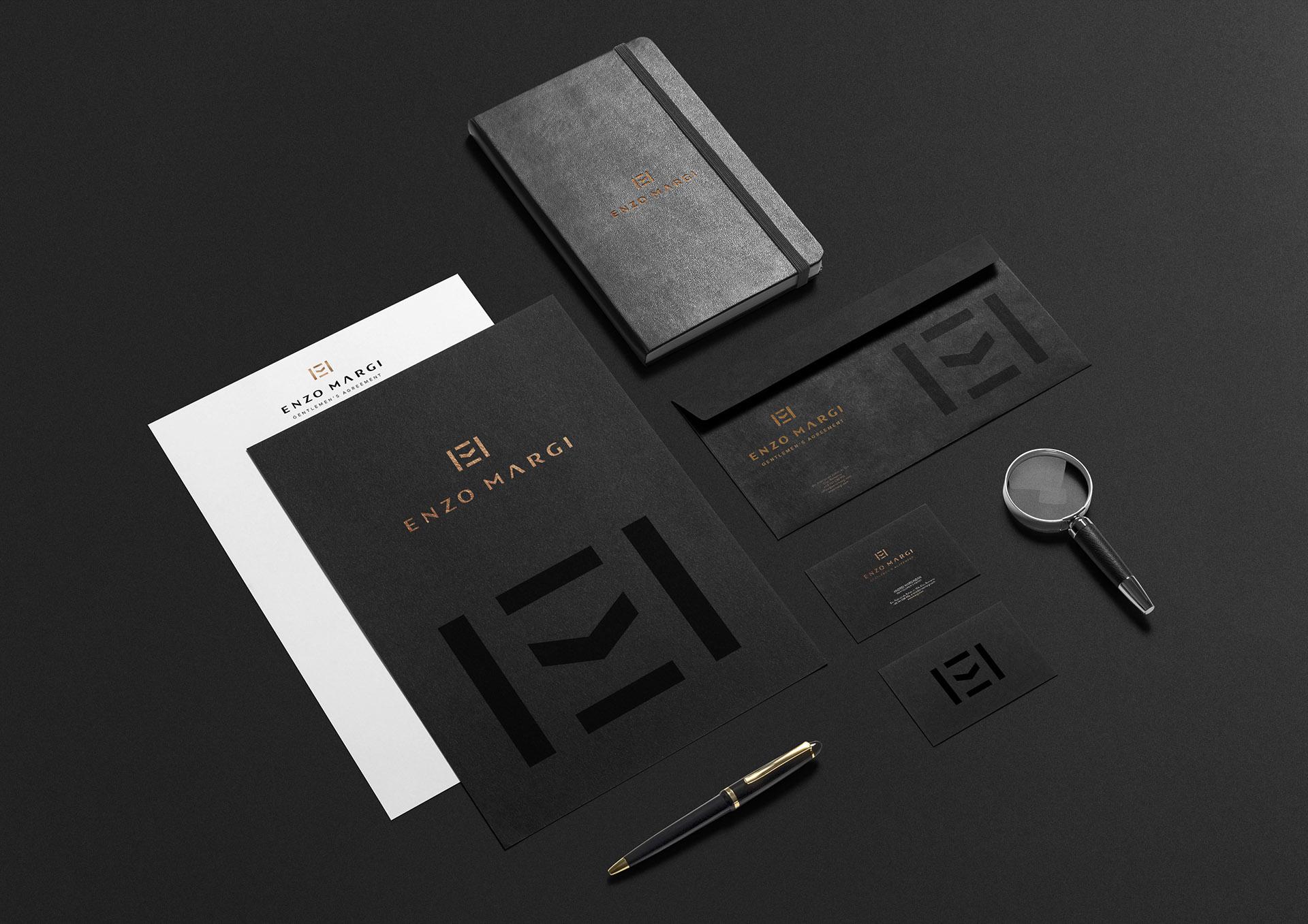 enzo margi portfolio inoveo stationery