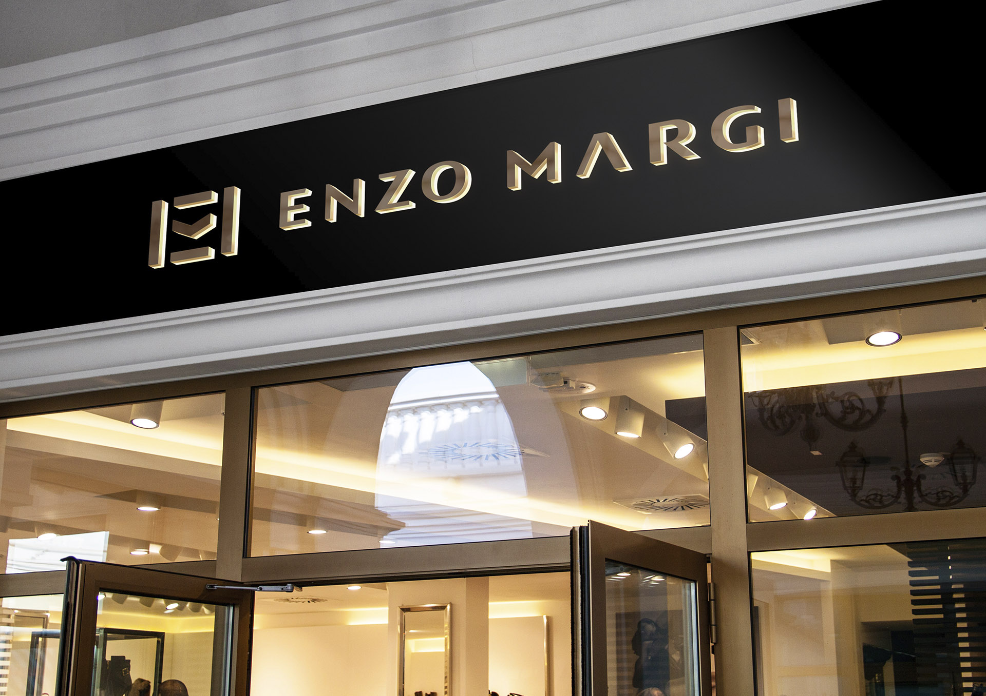 enzo margi portfolio inoveo store front