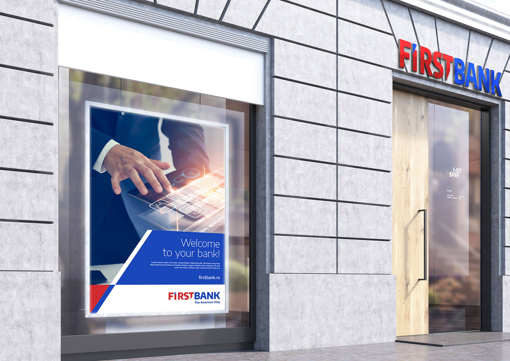 first bank portfolio inoveo facade