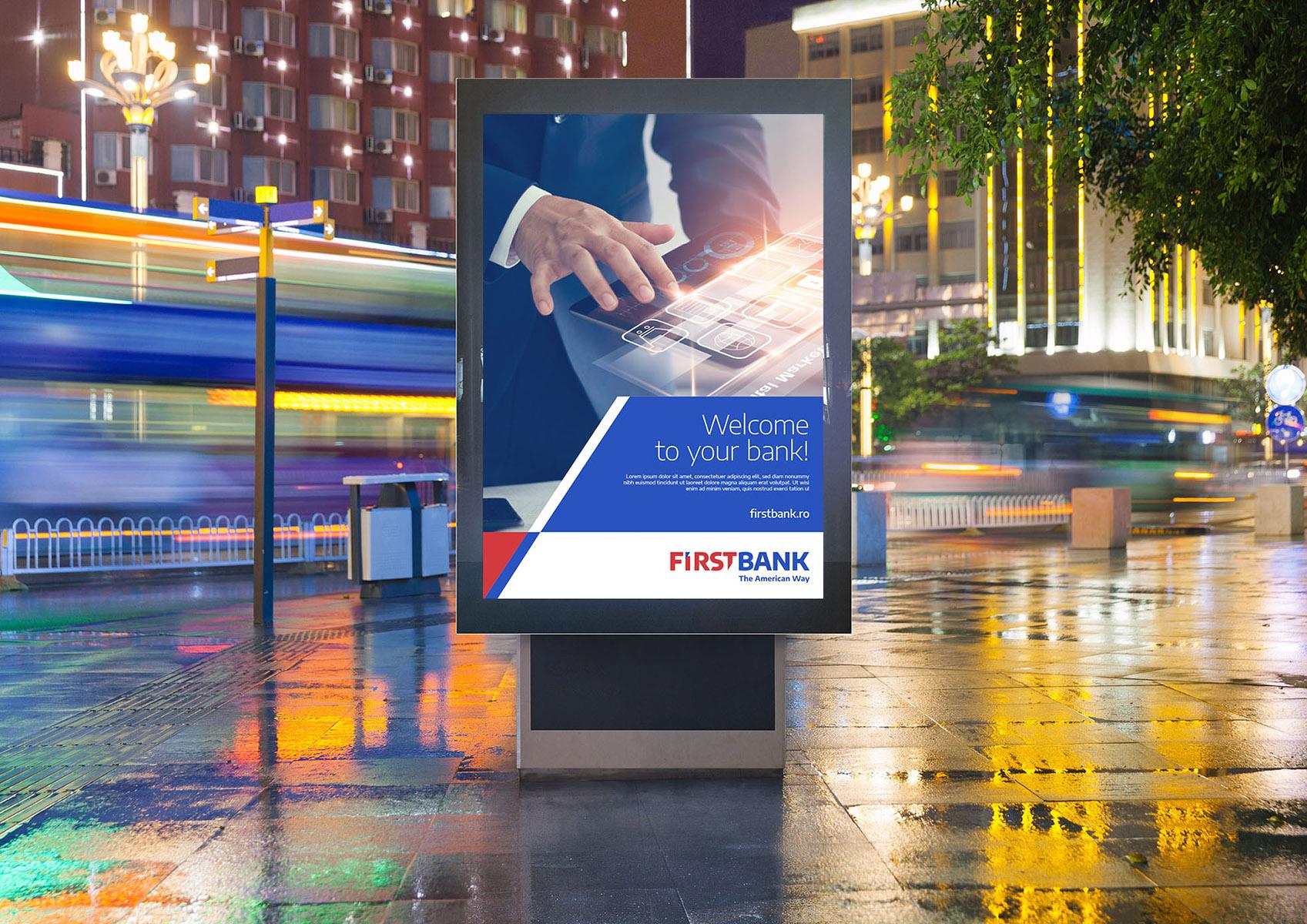 first bank portfolio inoveo street poster