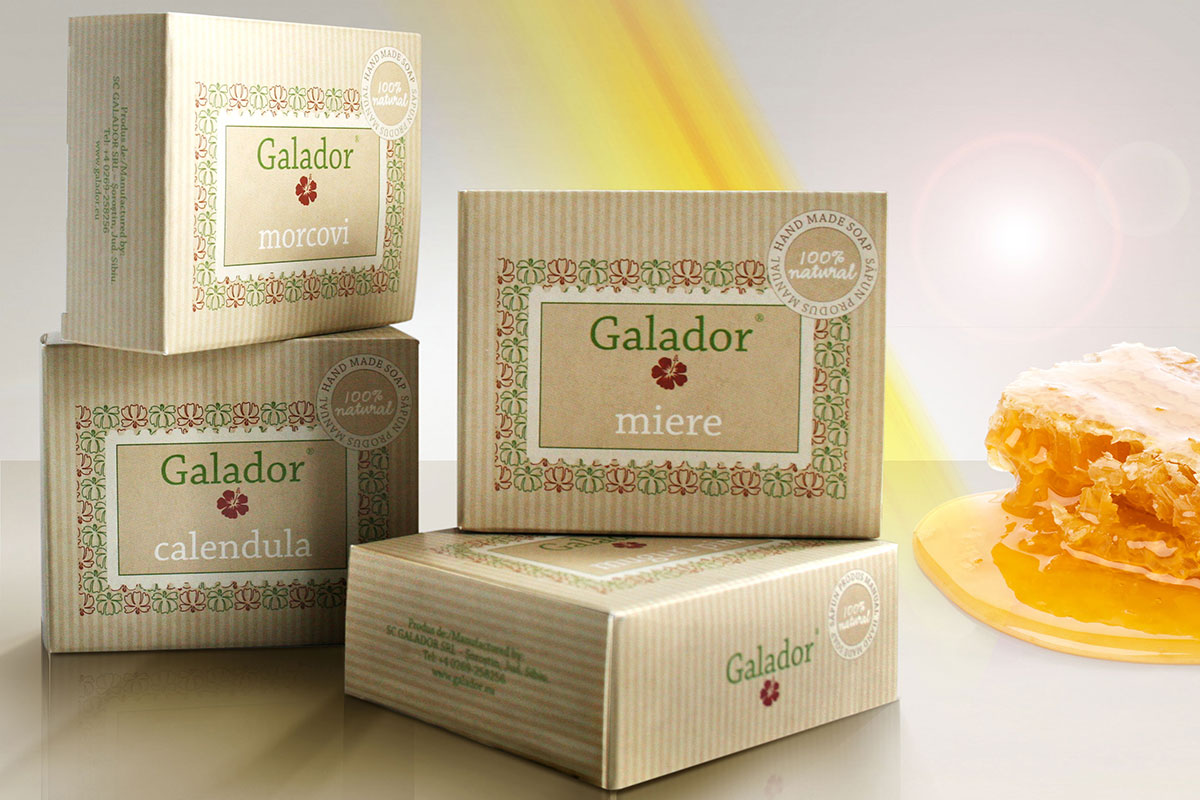 galador package design brand
