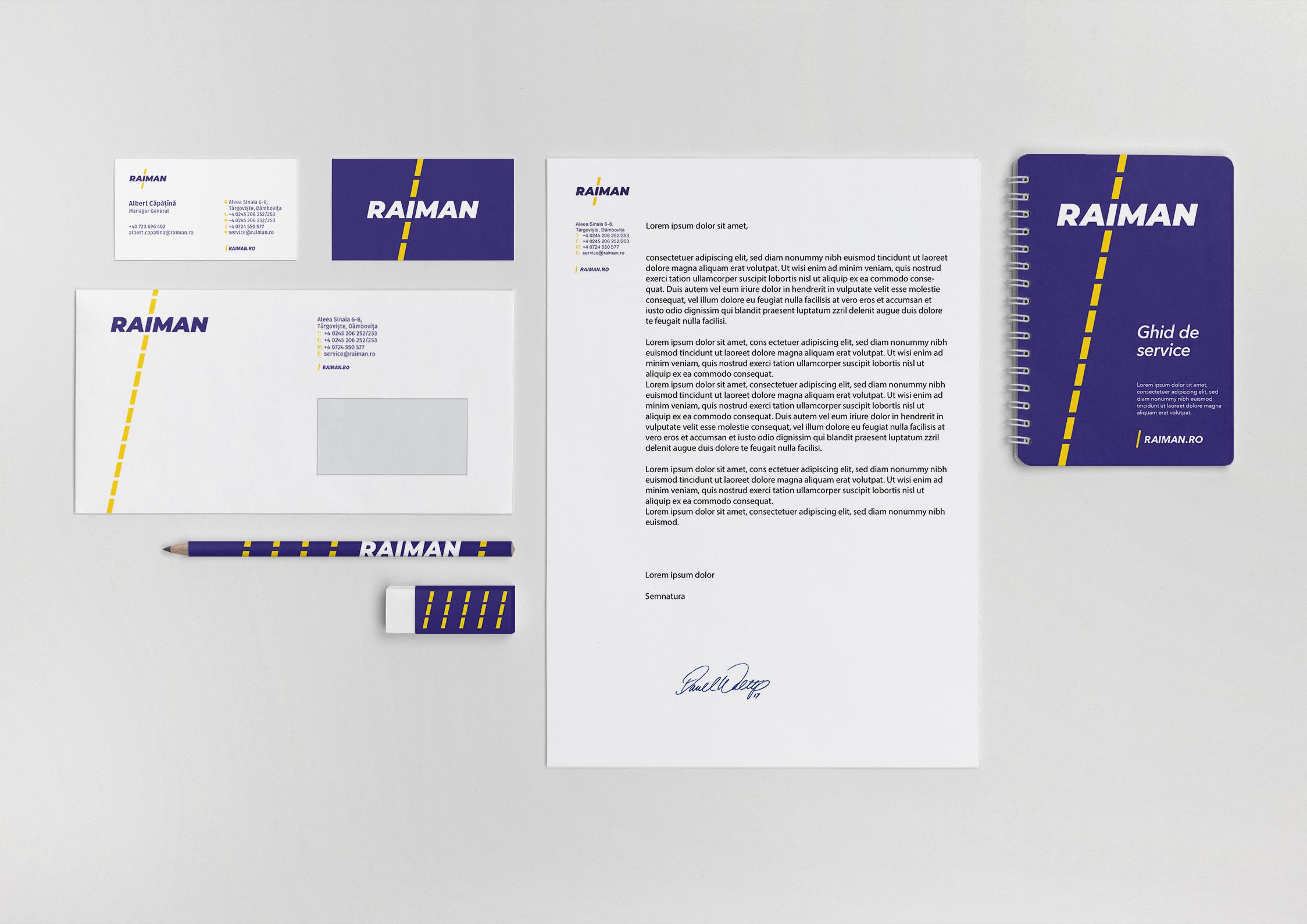 raiman portfolio inoveo Stationery
