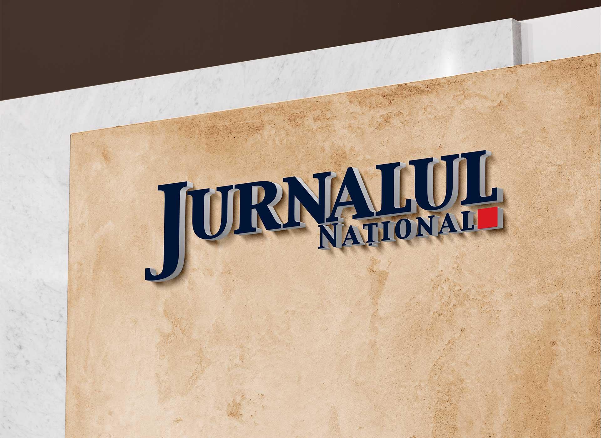 Jurnalul National portfolio inoveo wall logo