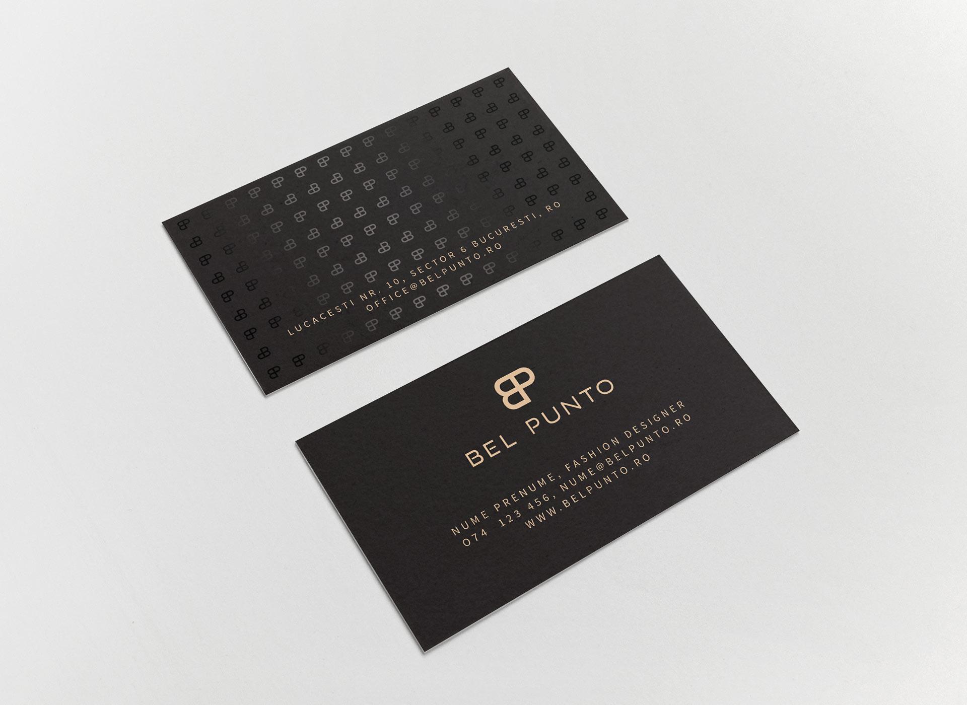 Bel Punto Business Card