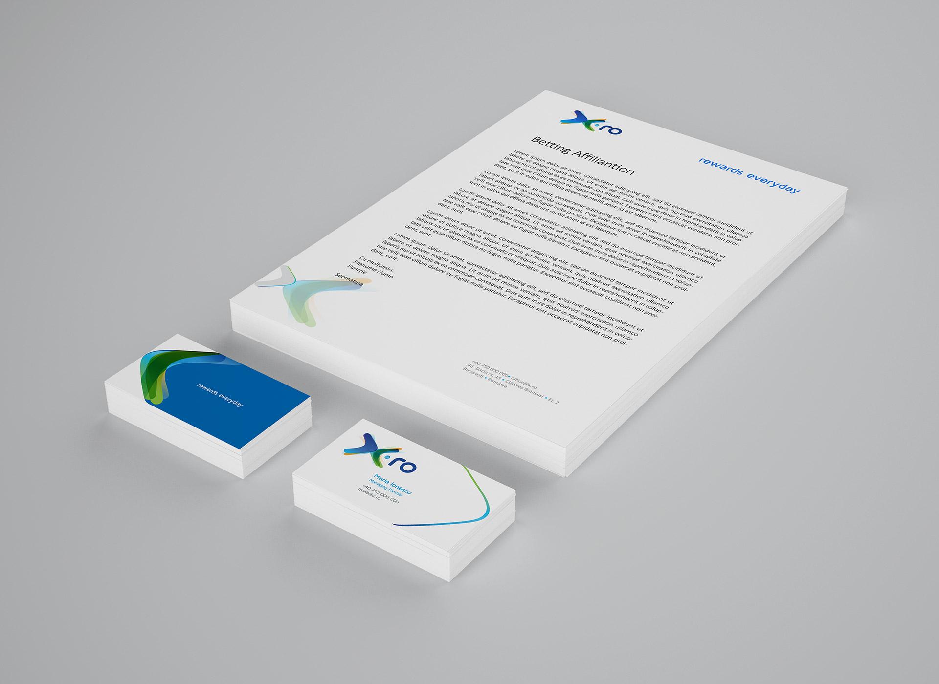 X.ro portfolio inoveo stationery