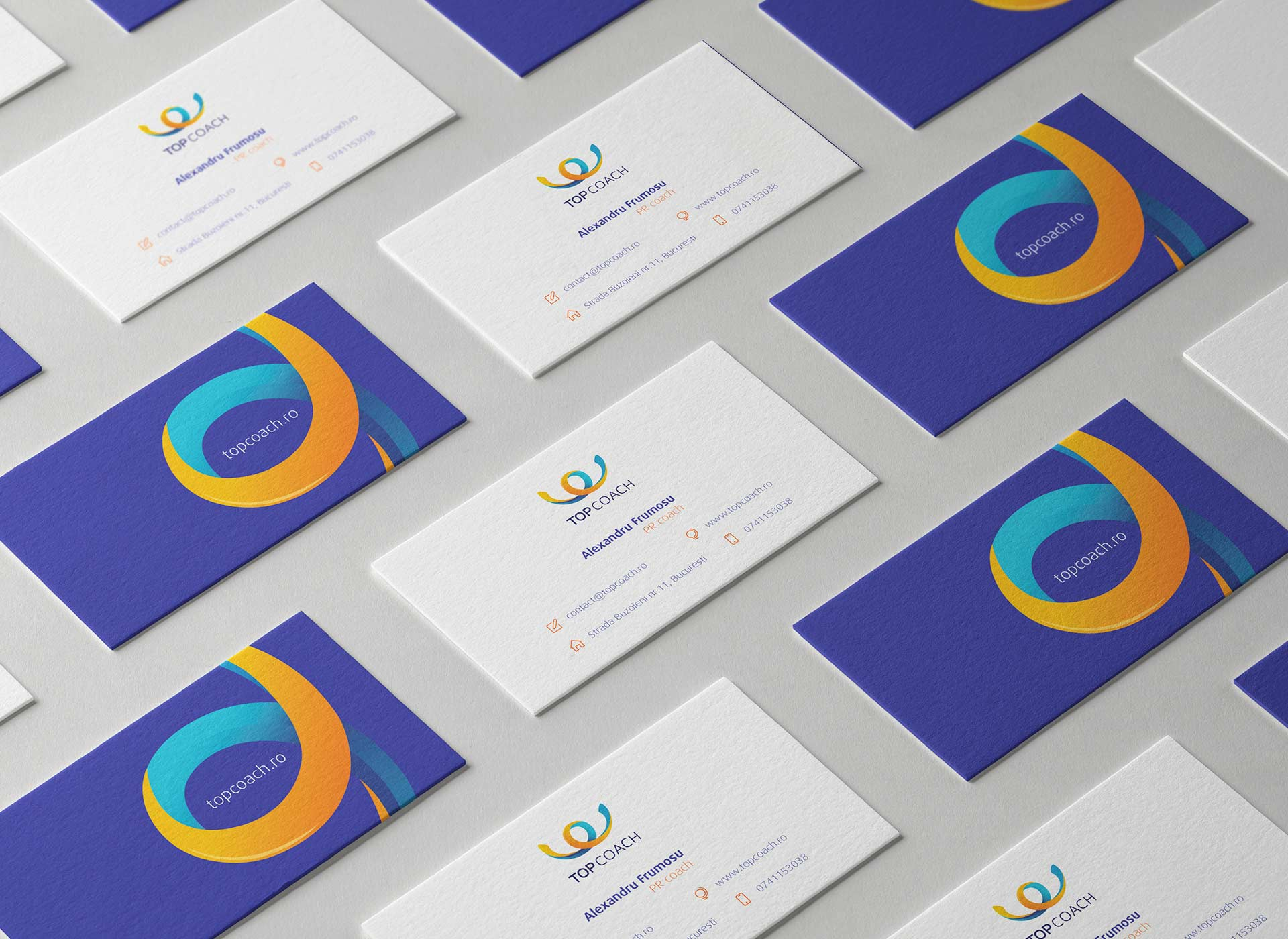 Top Coach portfolio inoveo business cards