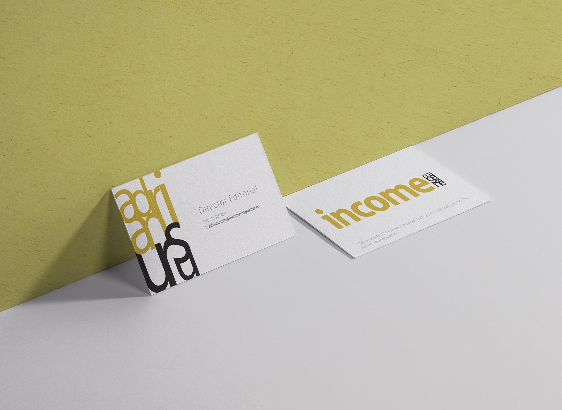 Income portfolio inoveo business card