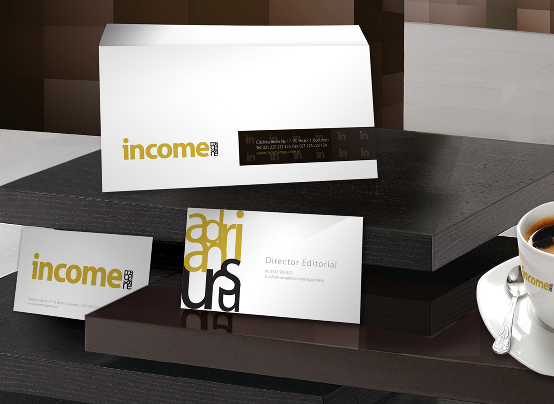 Income portfolio inoveo stationery