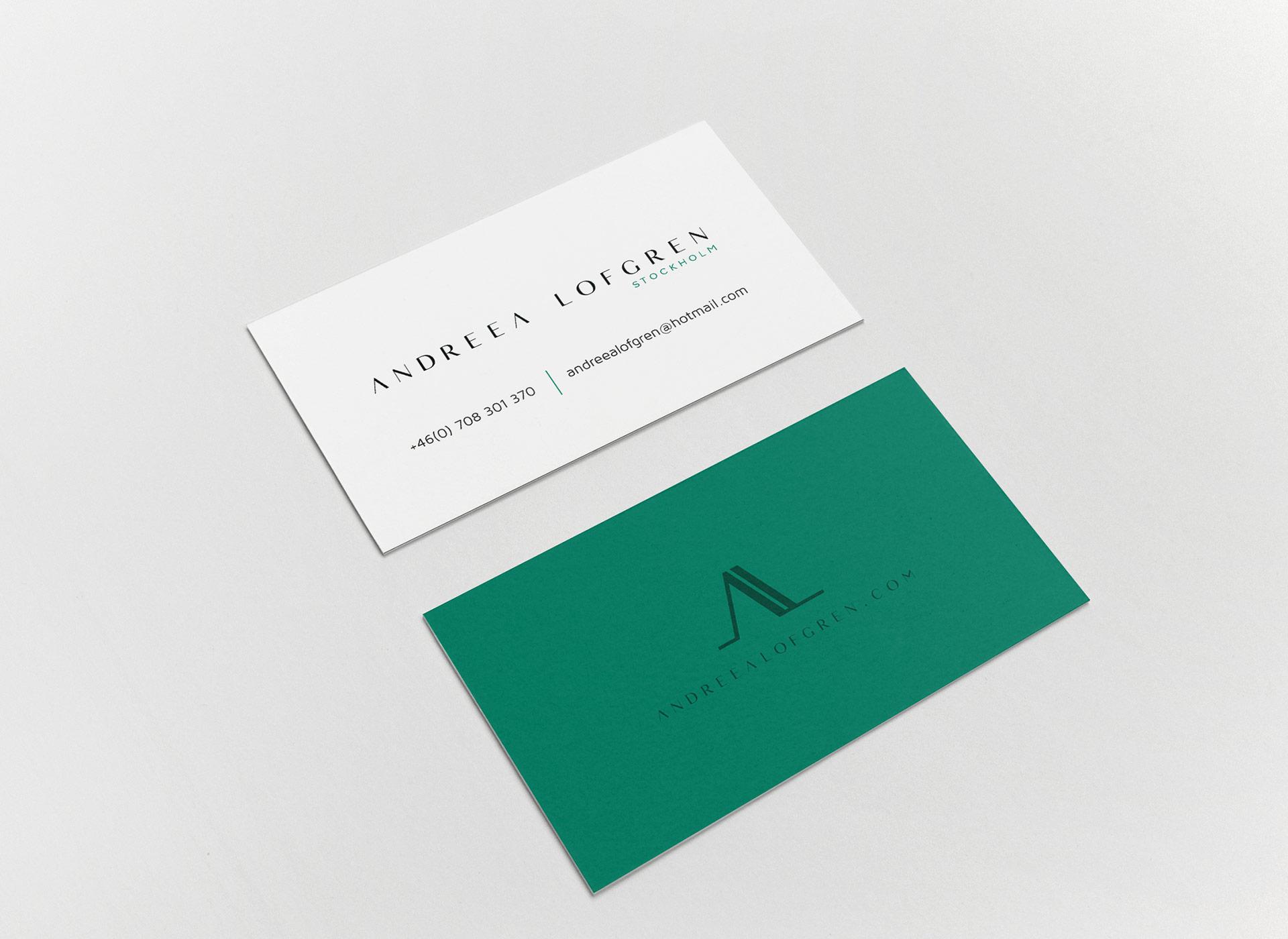 Andreea Lofgren portfolio inoveo cv