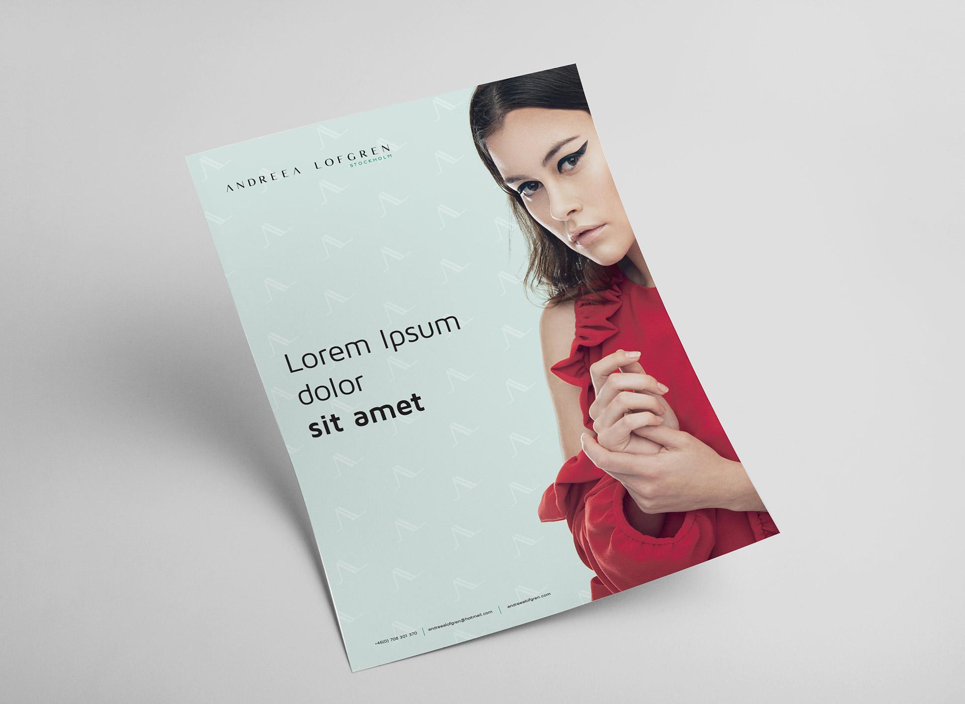 Andreea Lofgren portfolio inoveo poster