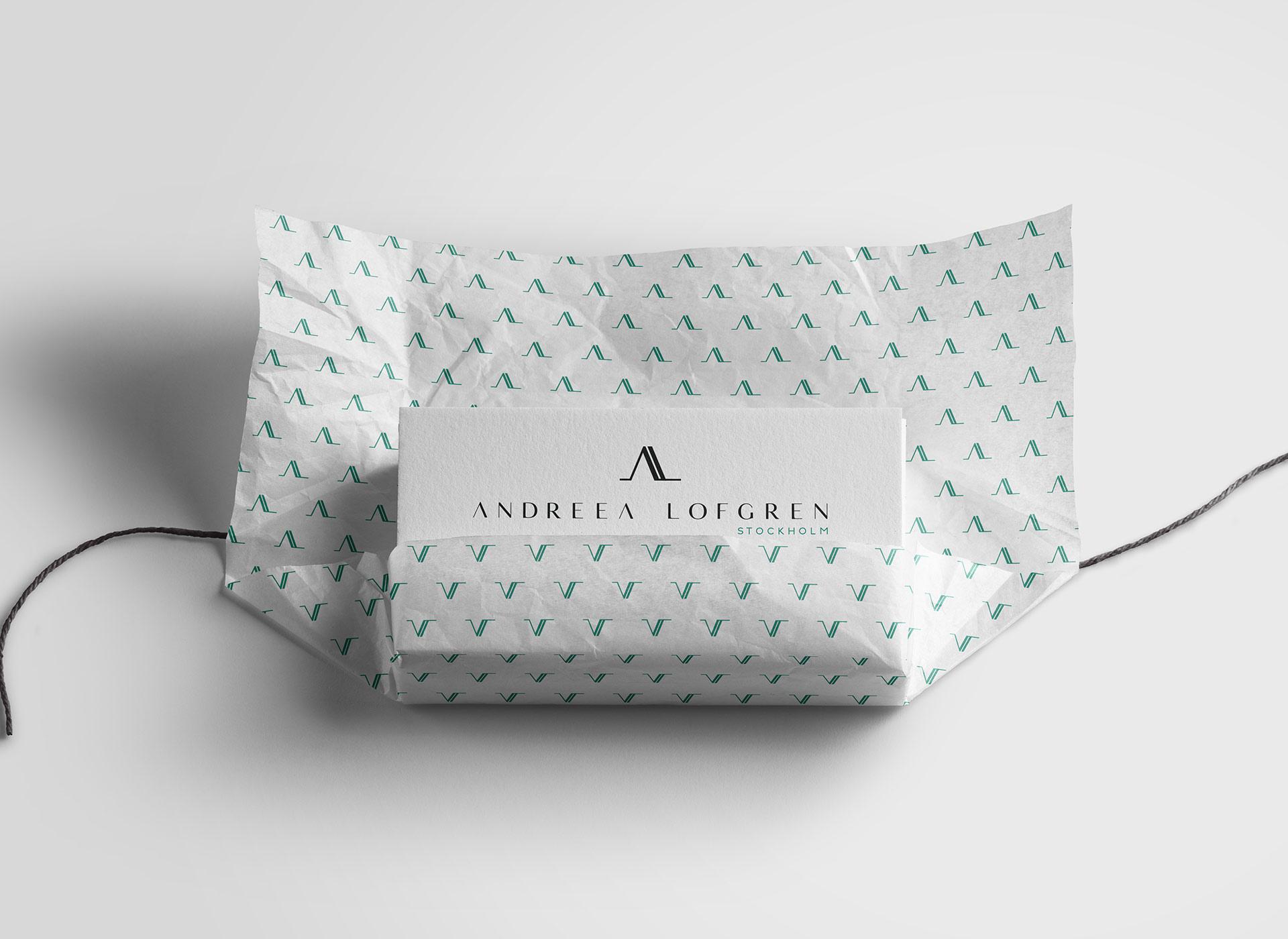 Andreea Lofgren portfolio inoveo warpping papper