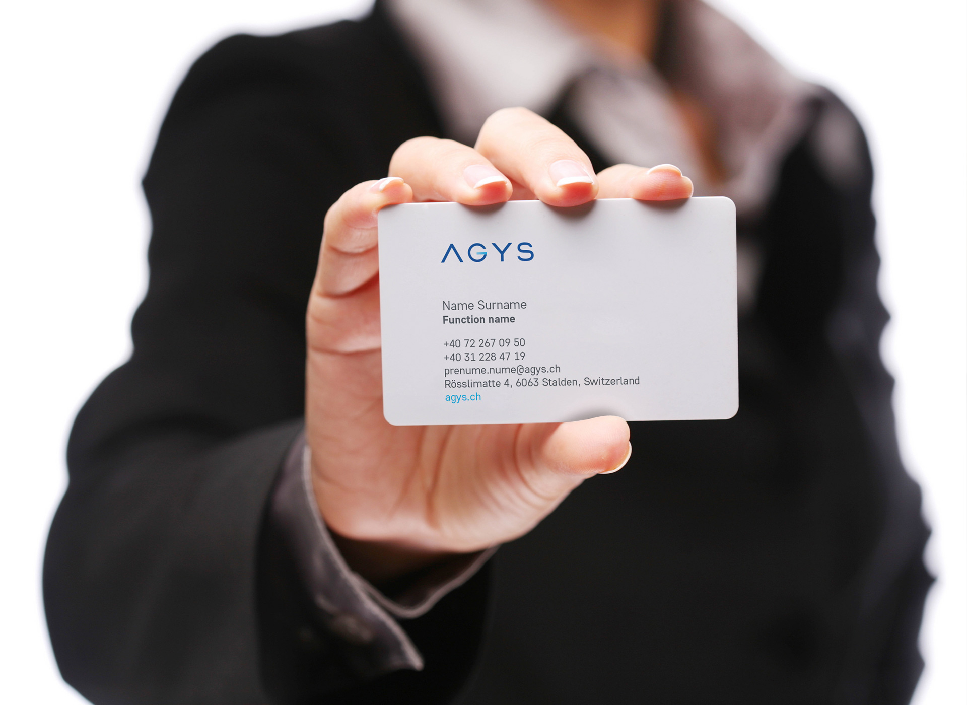 agys protfolio inoveo business card