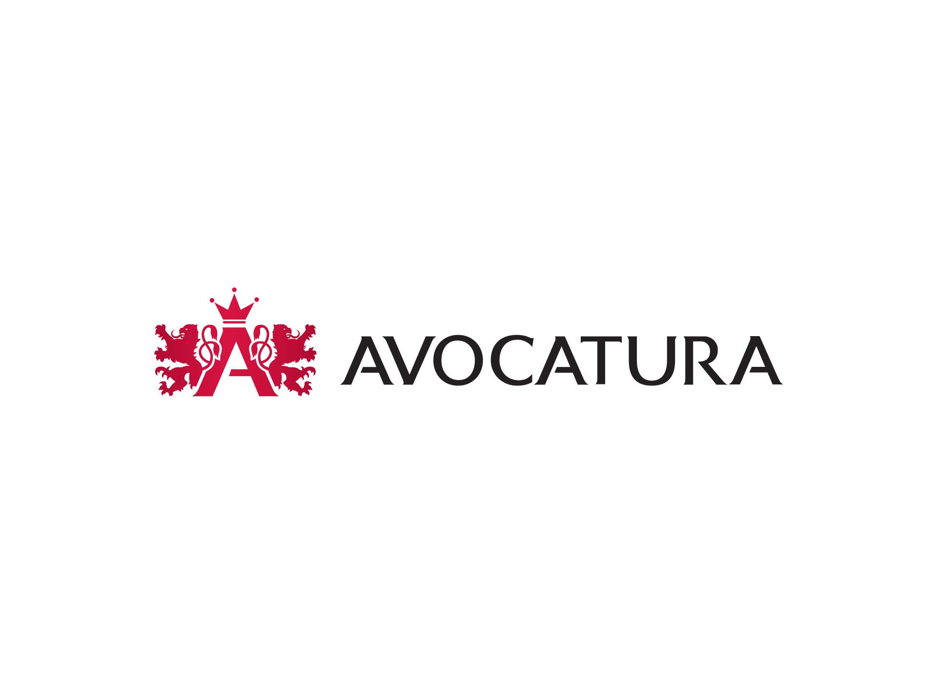 avocatura logo negativ inoveo branading agency