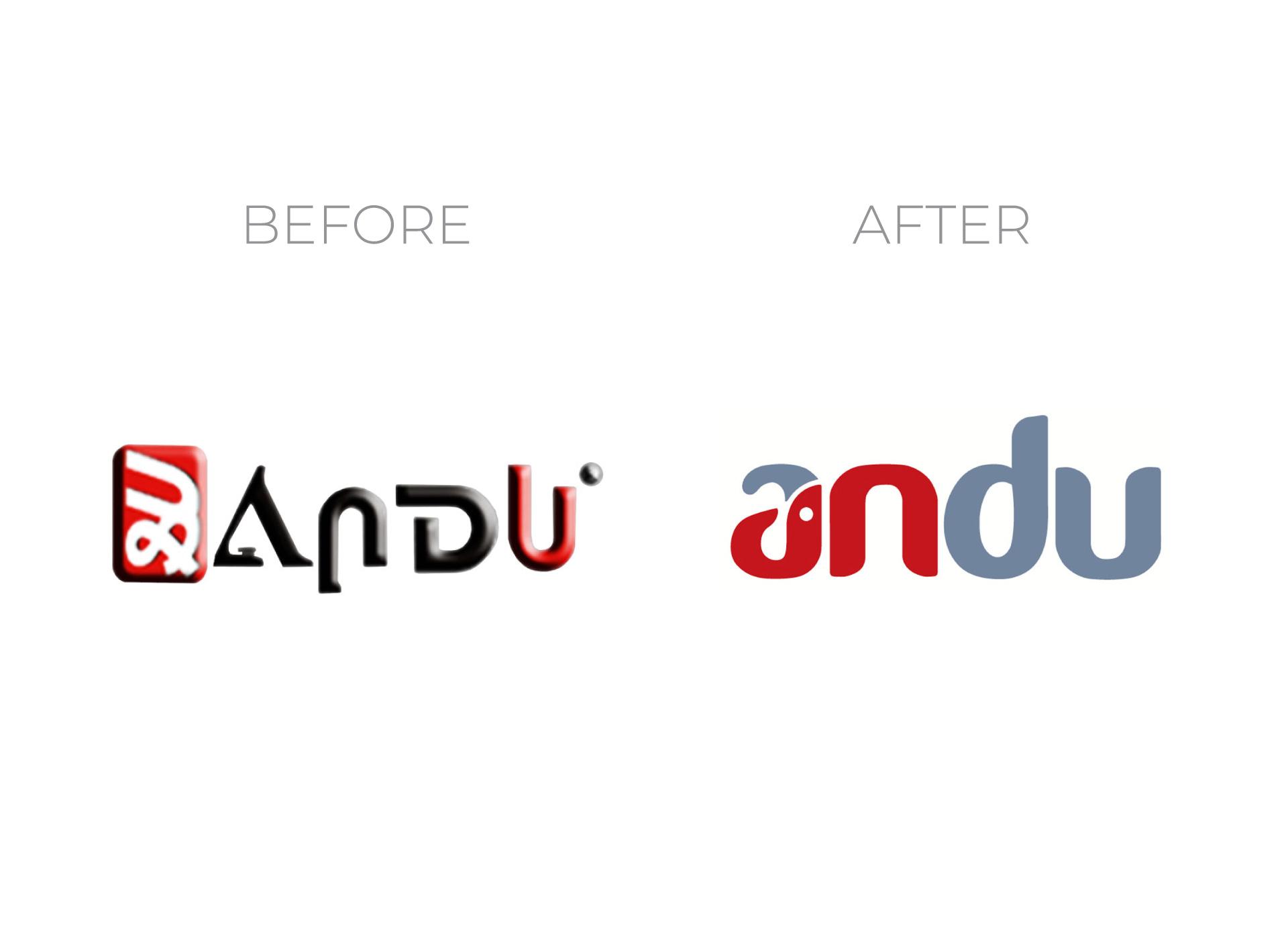 andu portfolio inoveo before and after rebranding
