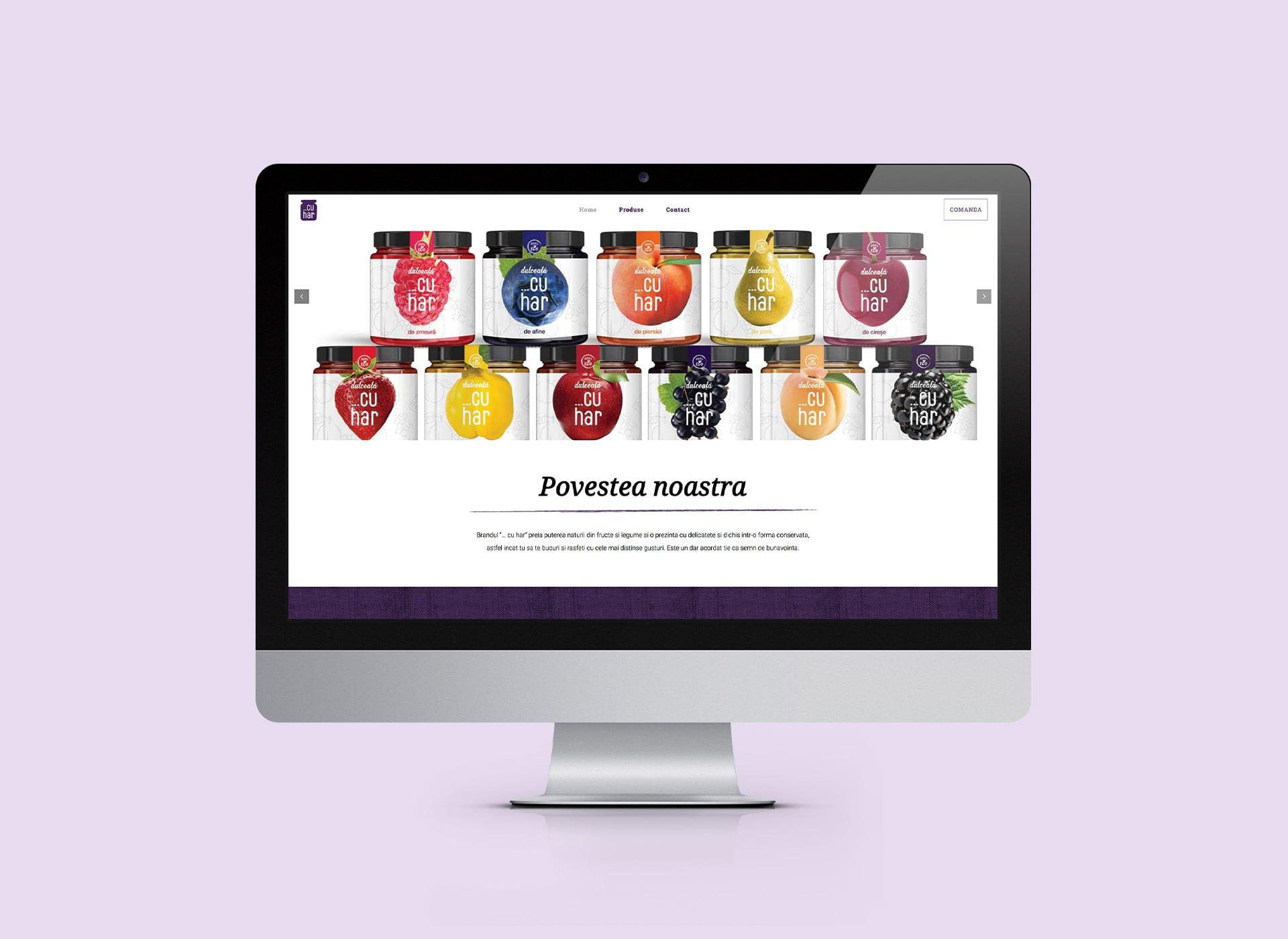 cuhar web branding by inoveo