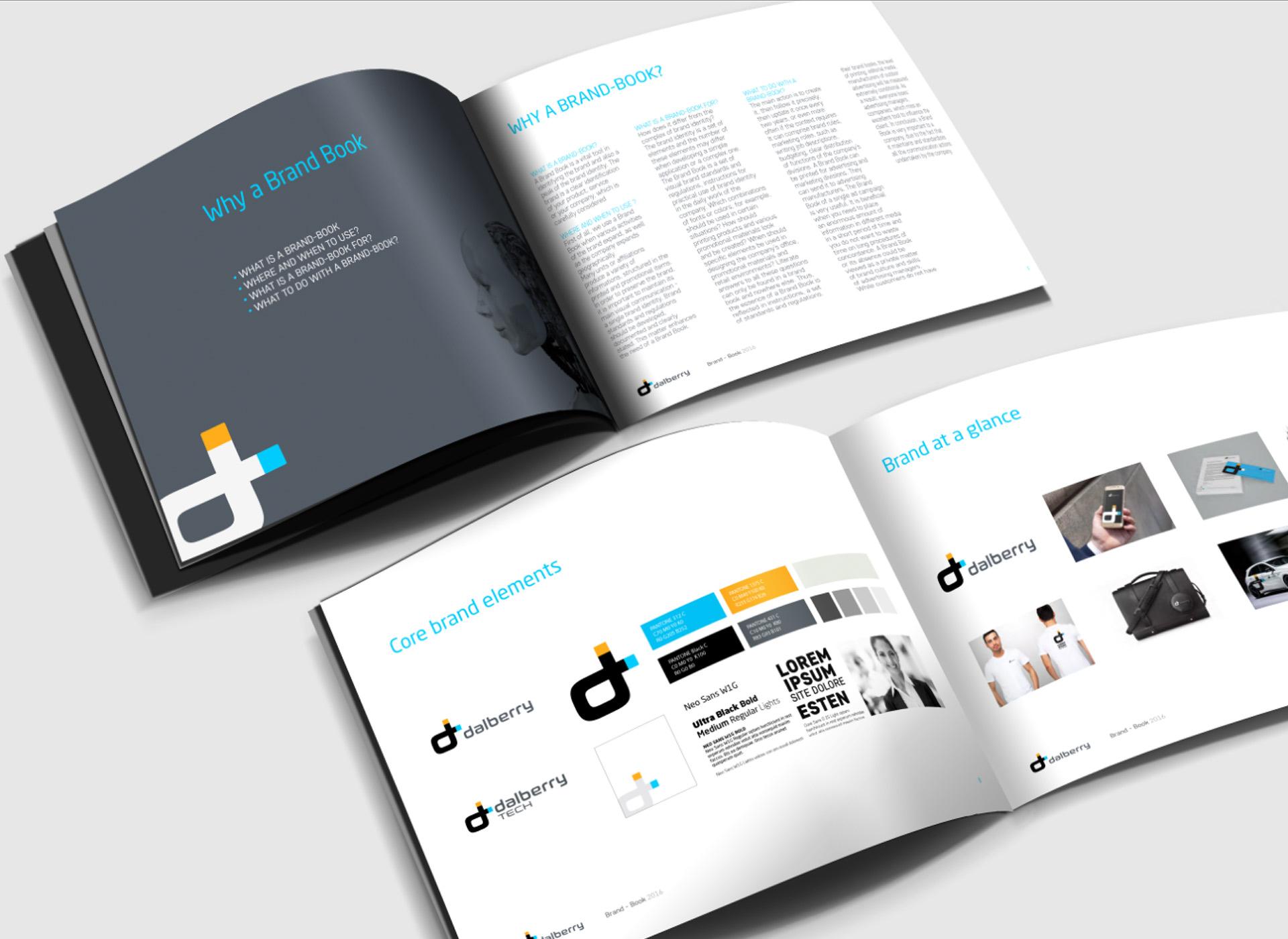 branding inovative simulation brandbook