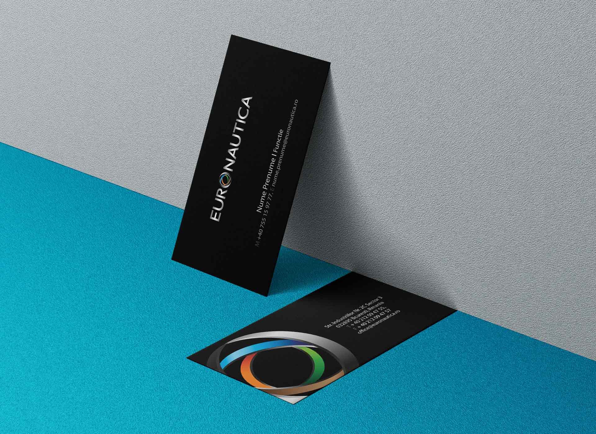 euronautica business cards