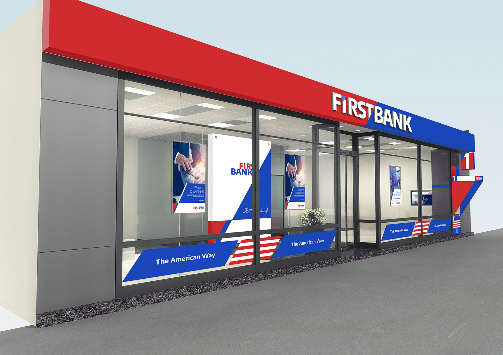 first bank portofoliu inoveo fatada