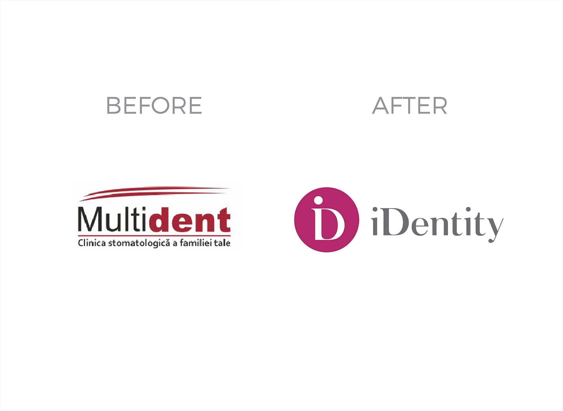 identity portofolio before rebranding
