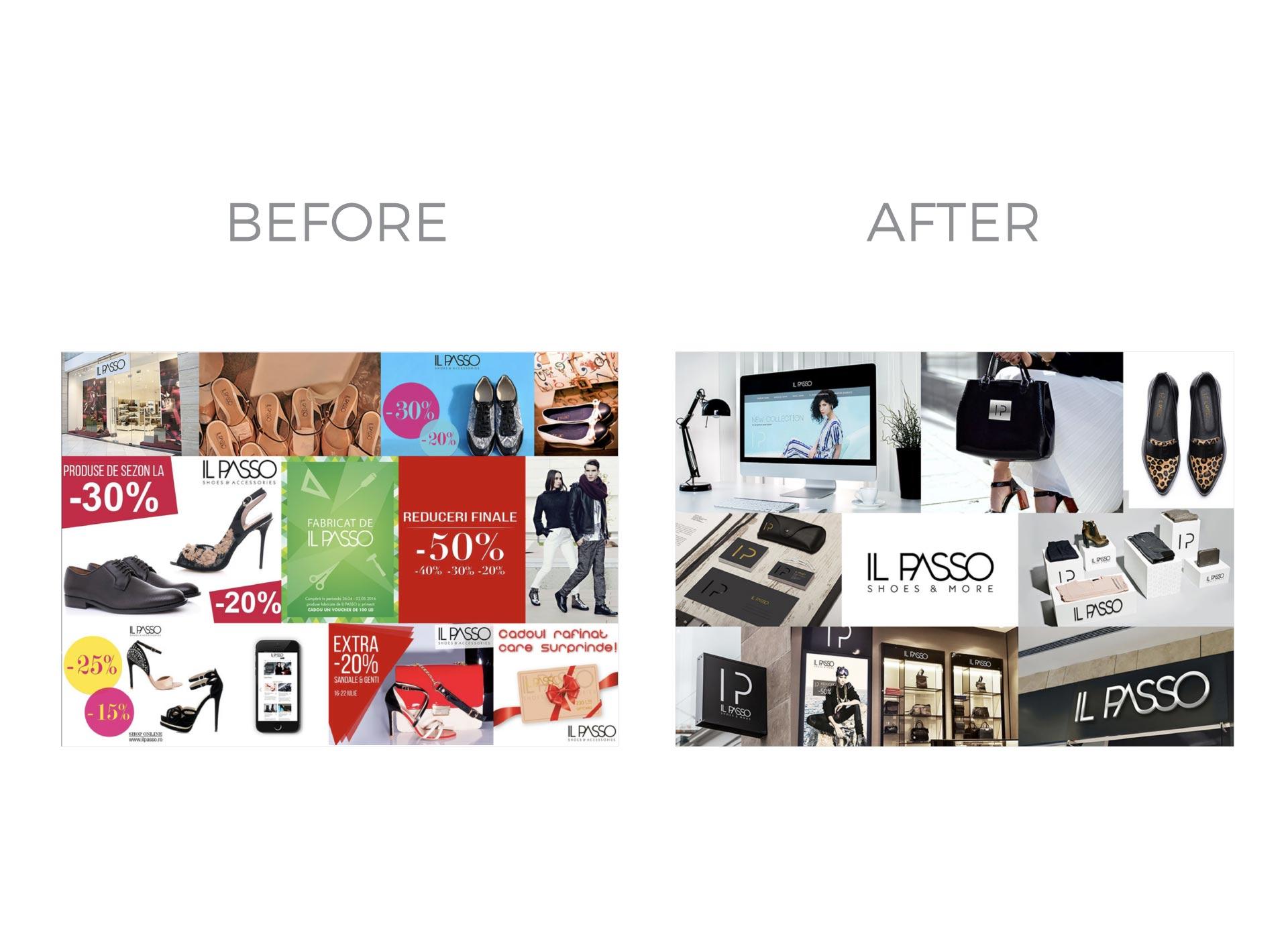 il passo portfolio inoveo before and after rebranding