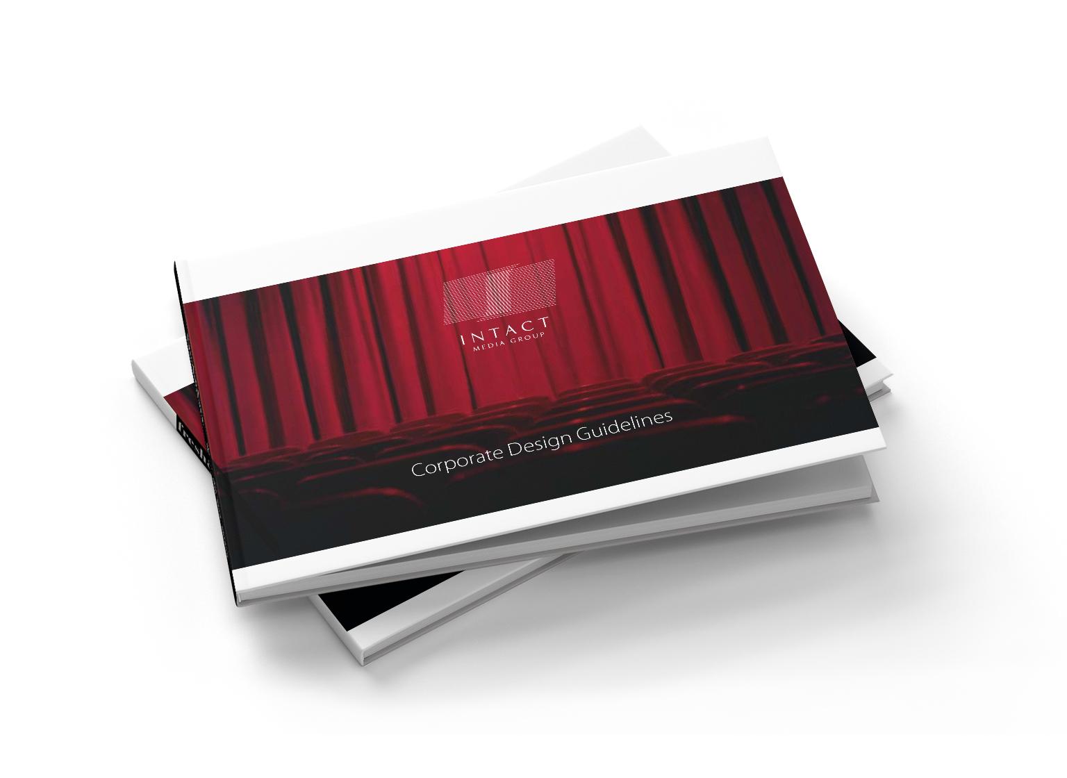 Intact Media Group portfolio inoveo brand book