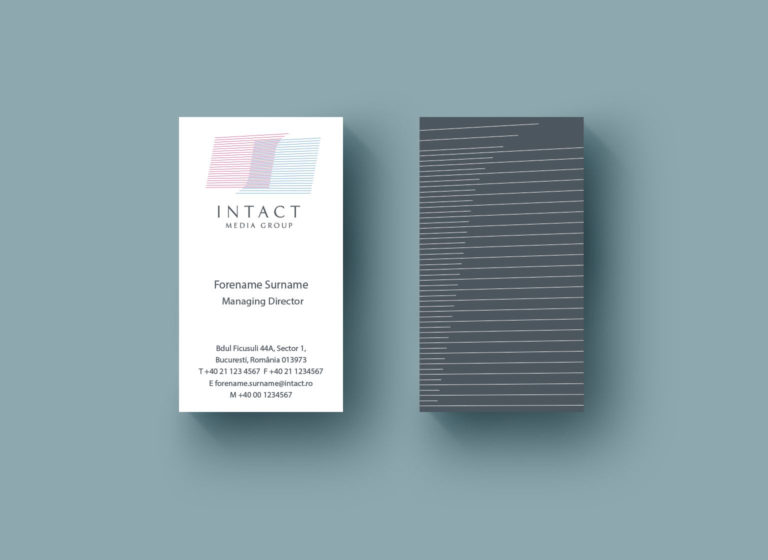 Intact Media Group portfolio inoveo business card