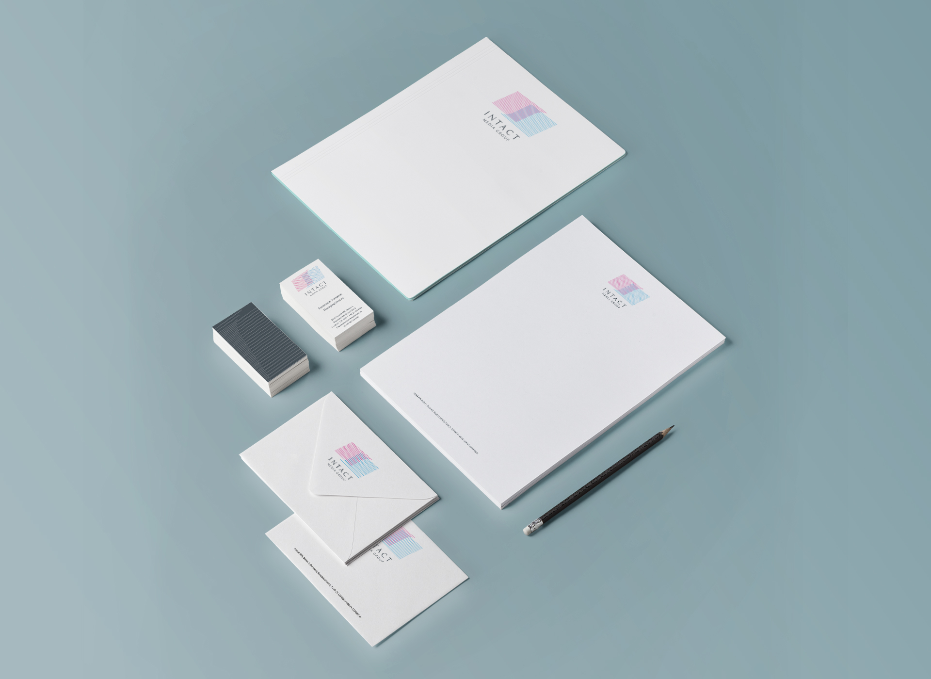 Intact Media Group portfolio inoveo stationery