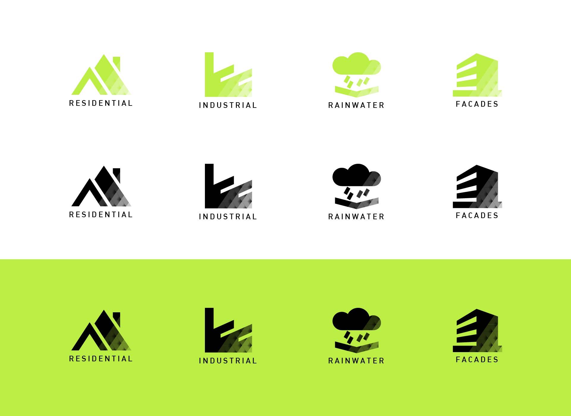 metigla icoane verde