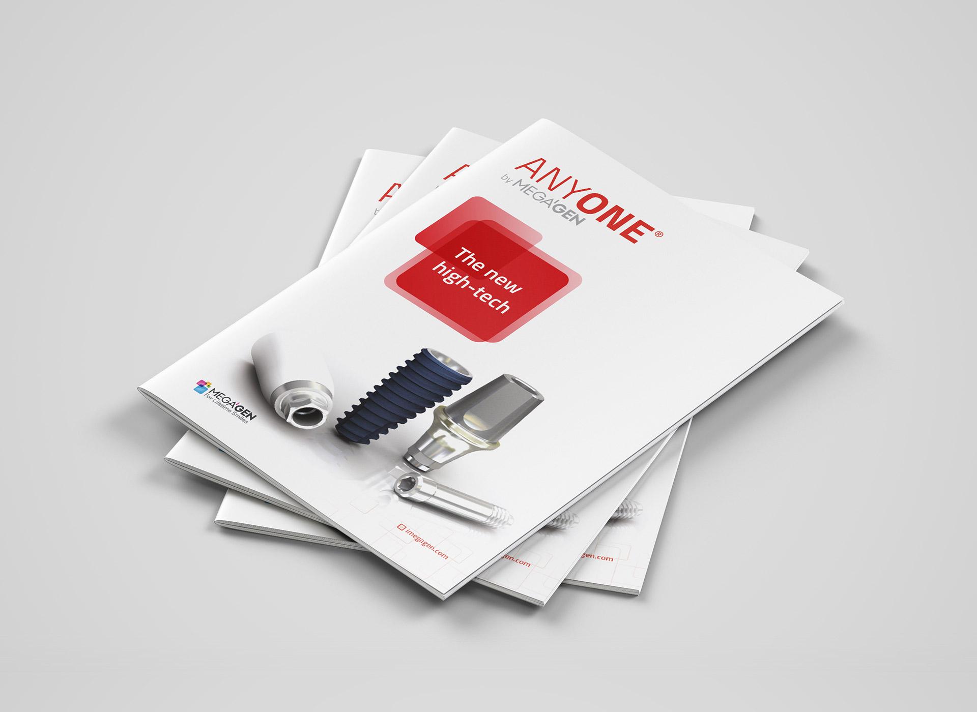 Megagen Koreea anyone brochure portfolio inoveo
